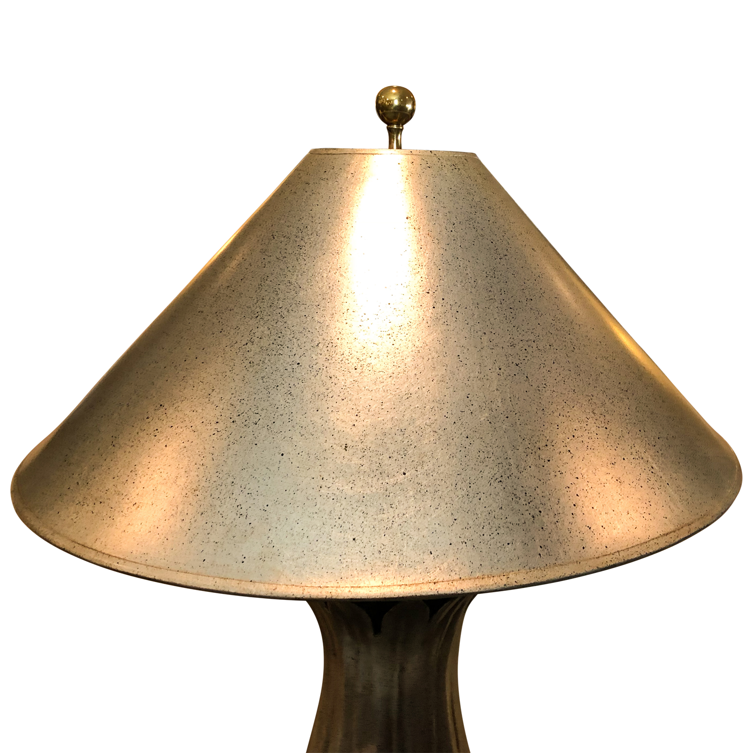 Silver Leaf Table Lamp