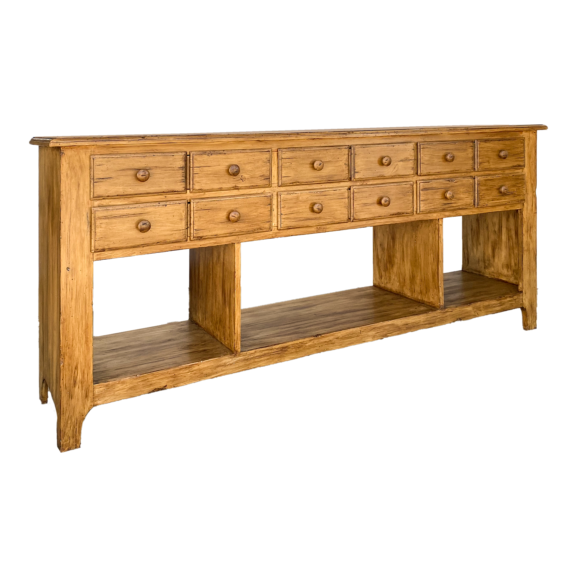 Multi Drawer Console Table