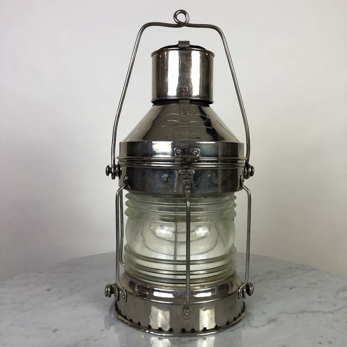 Ships Anchor Lantern by Meteorite