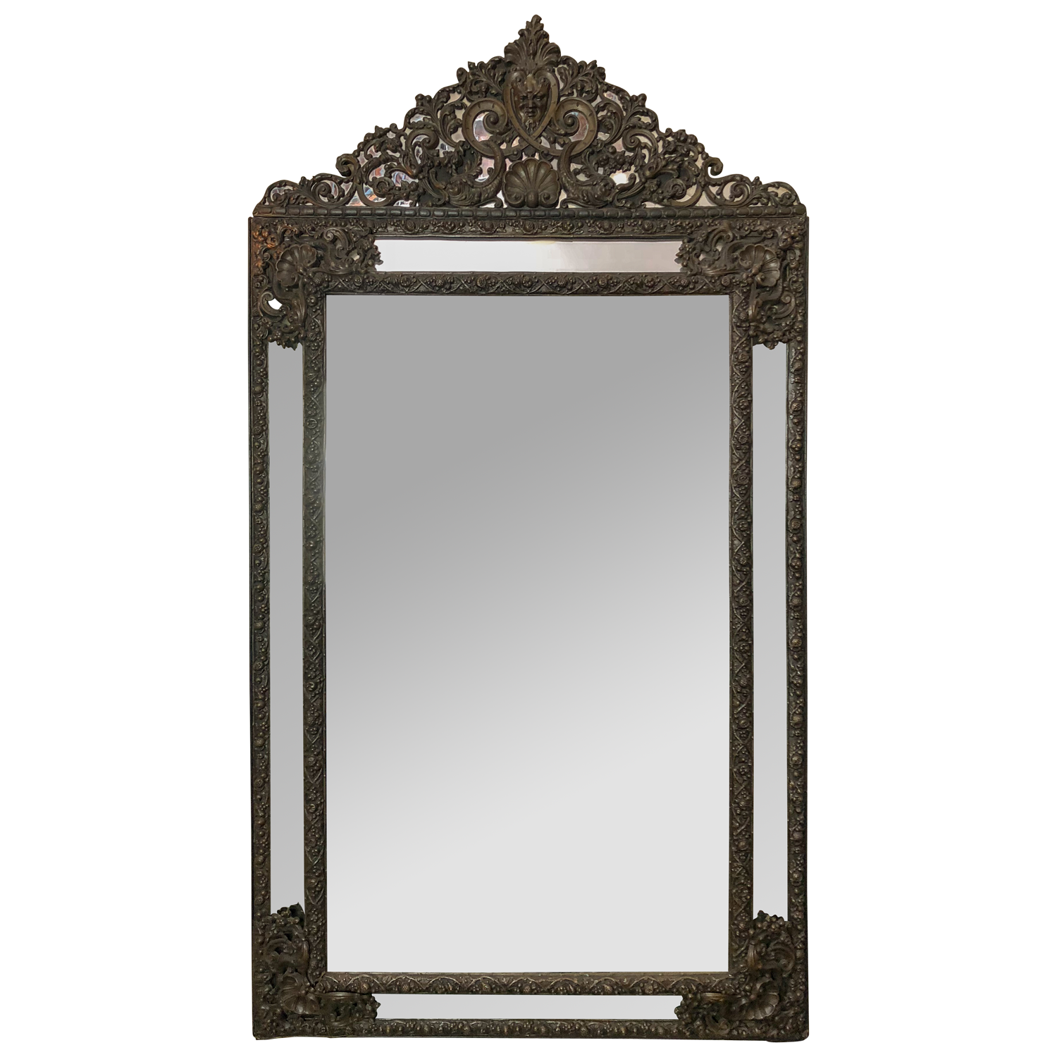 French Metal Mirror
