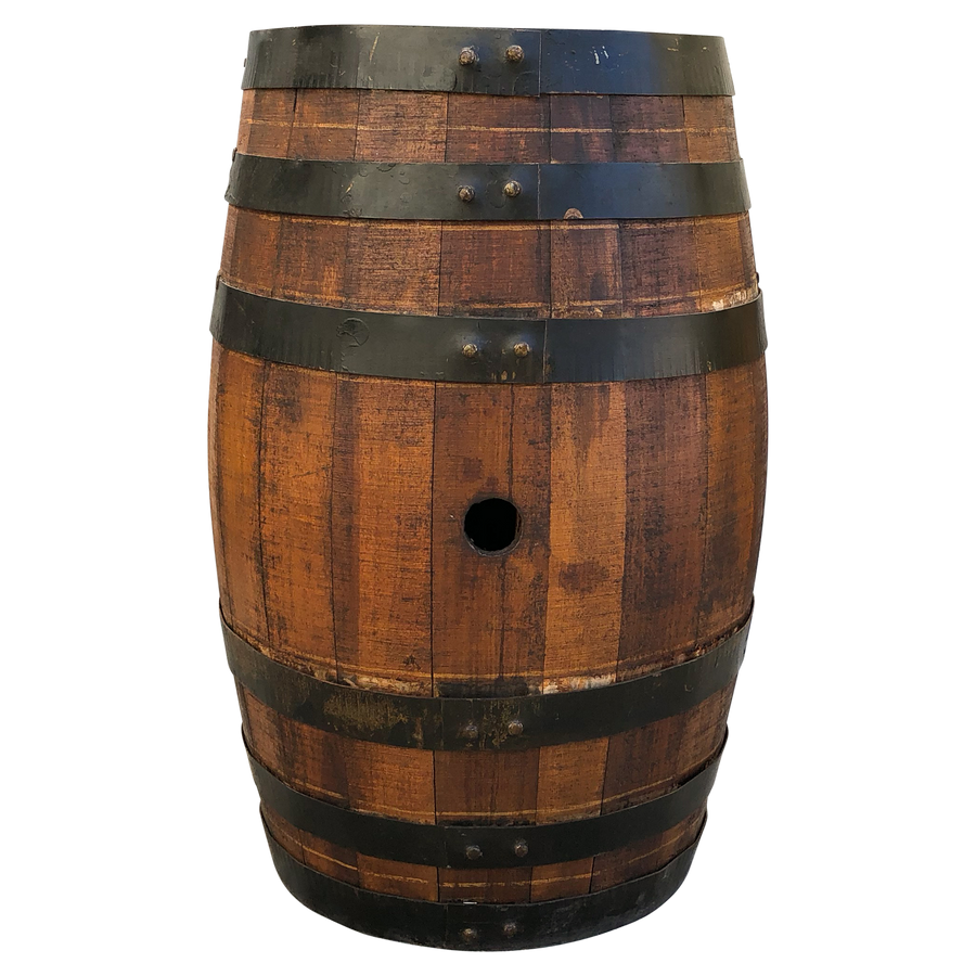 Hand Painted Wine Barrel