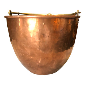 Rounded Copper Bucket
