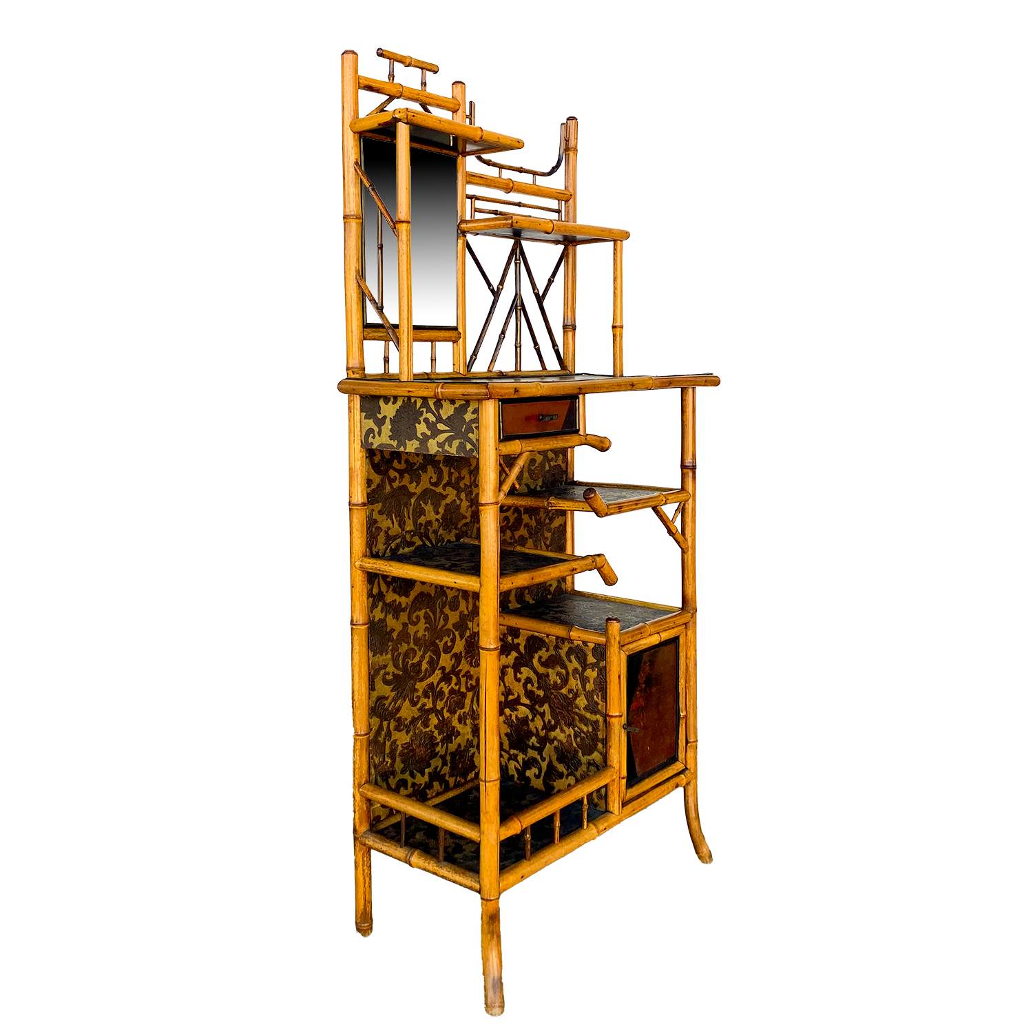 Bamboo Etagere