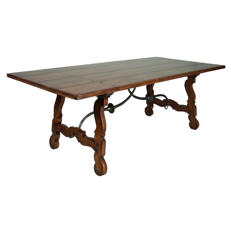 ITALIAN TRESTLE DINING TABLE