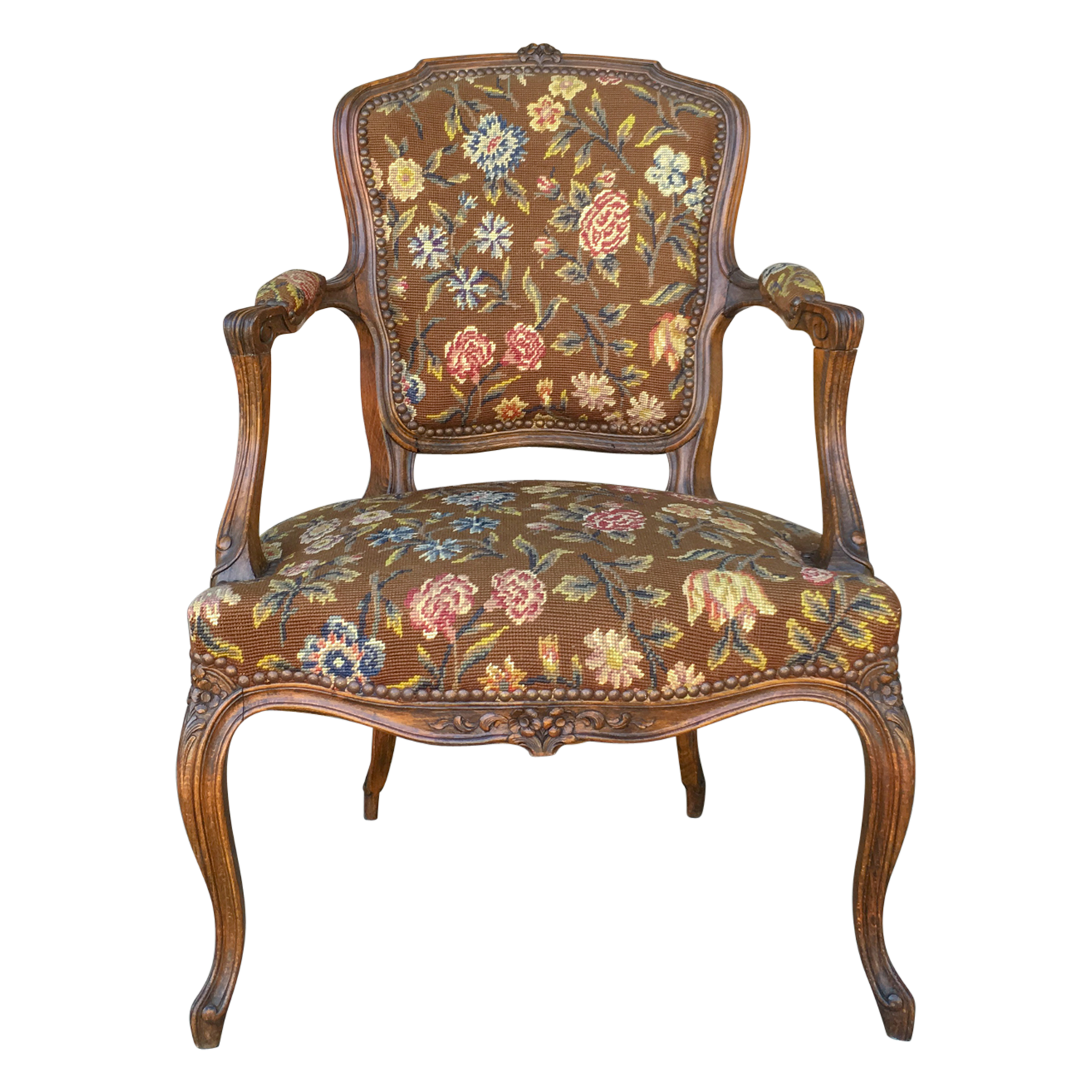Needlepoint Armchair