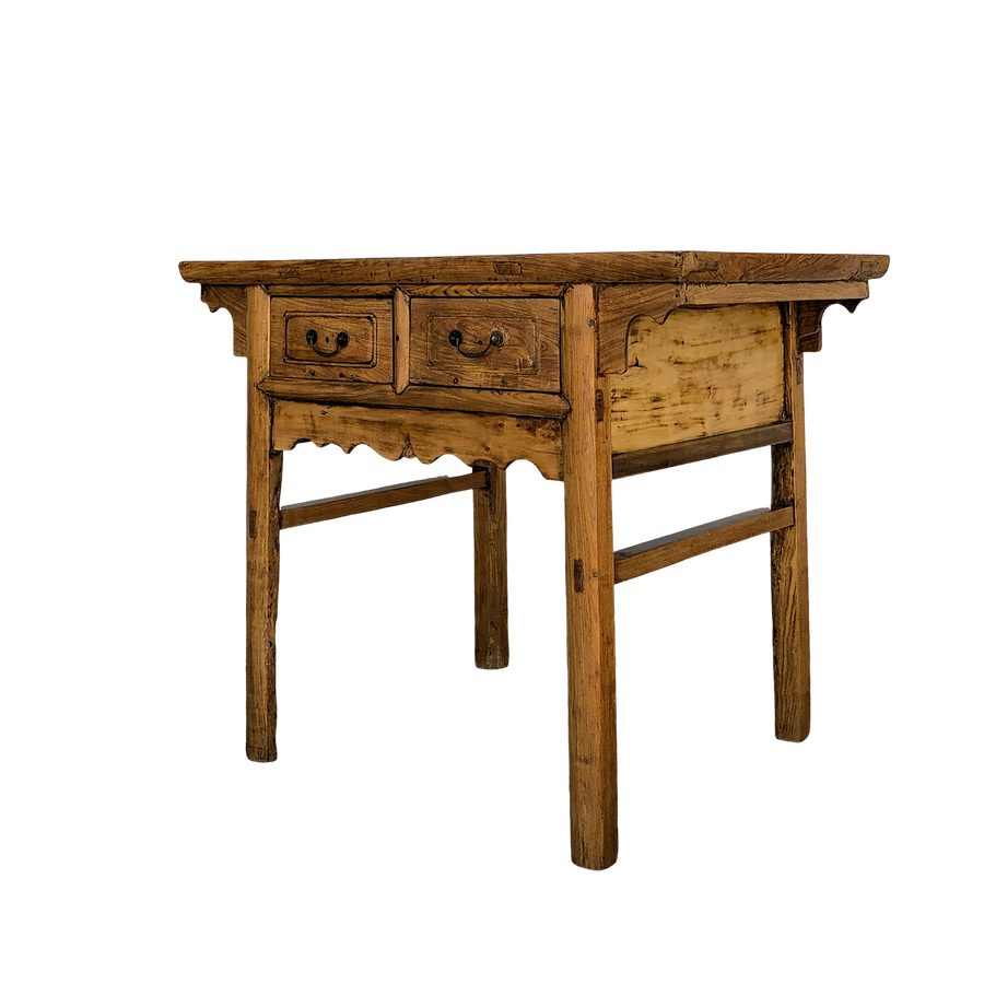 Bleached Fruitwood Altar Table