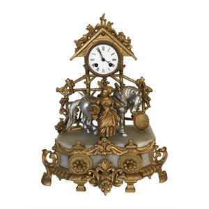 Gold & Silver Clock