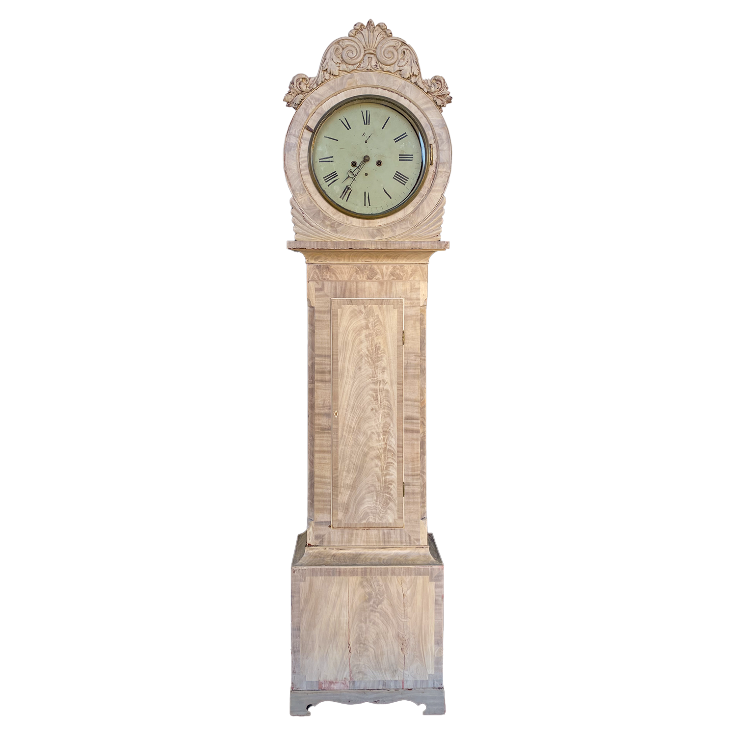 Bleached Grandfather Clock
