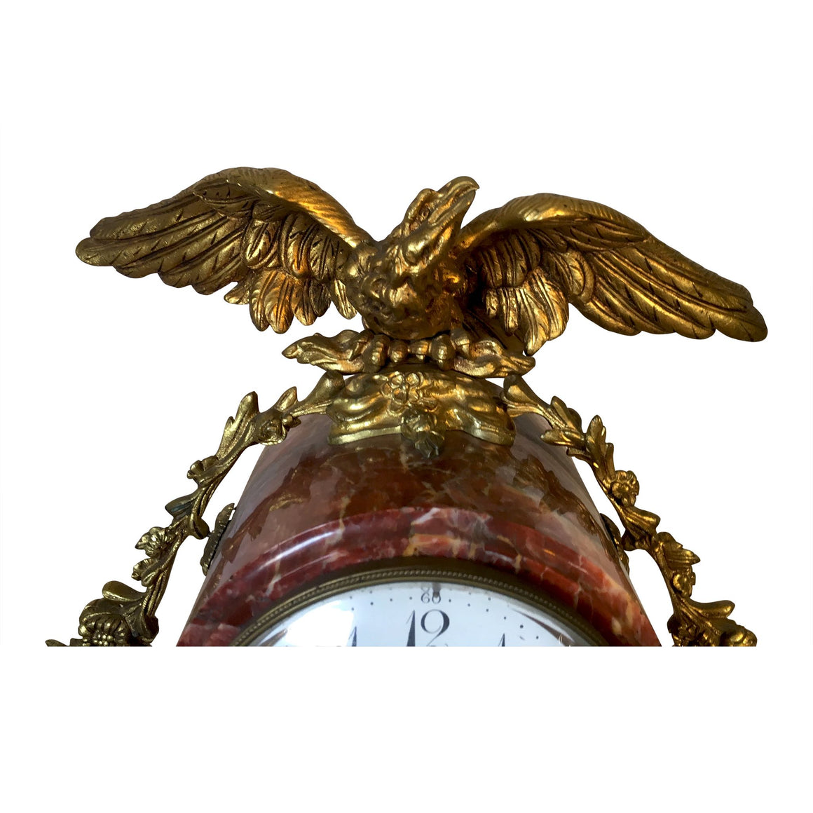 Marble Mantle Clock & Graniture