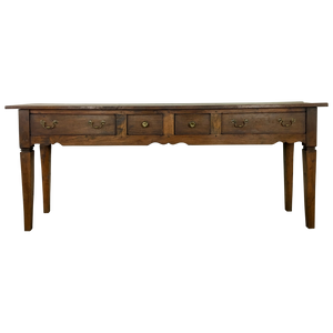 French Elm Console