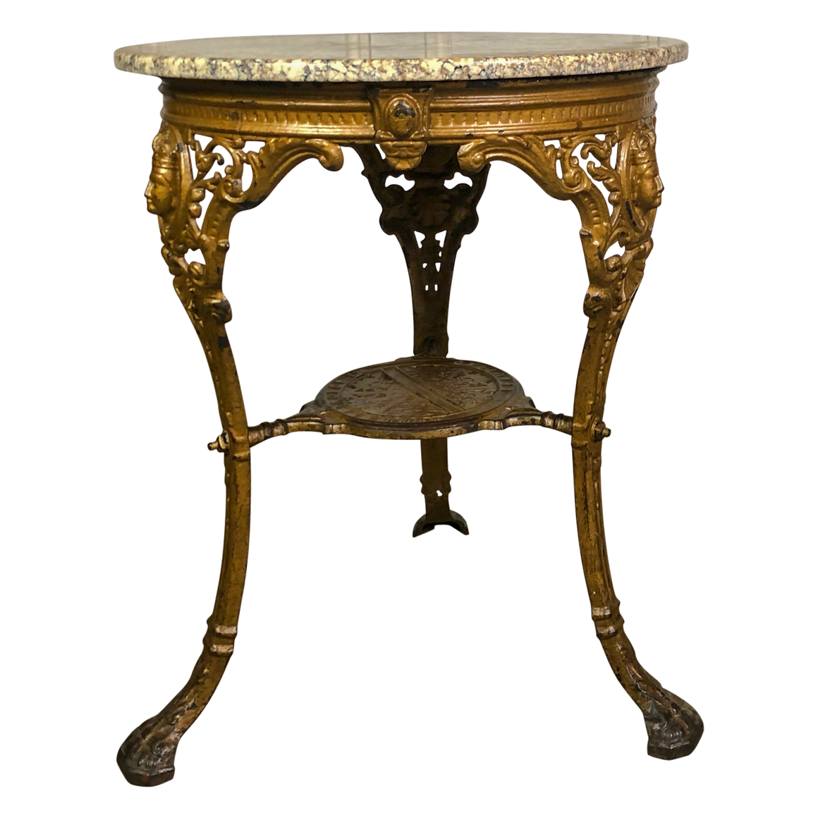 Cast Iron Side Table