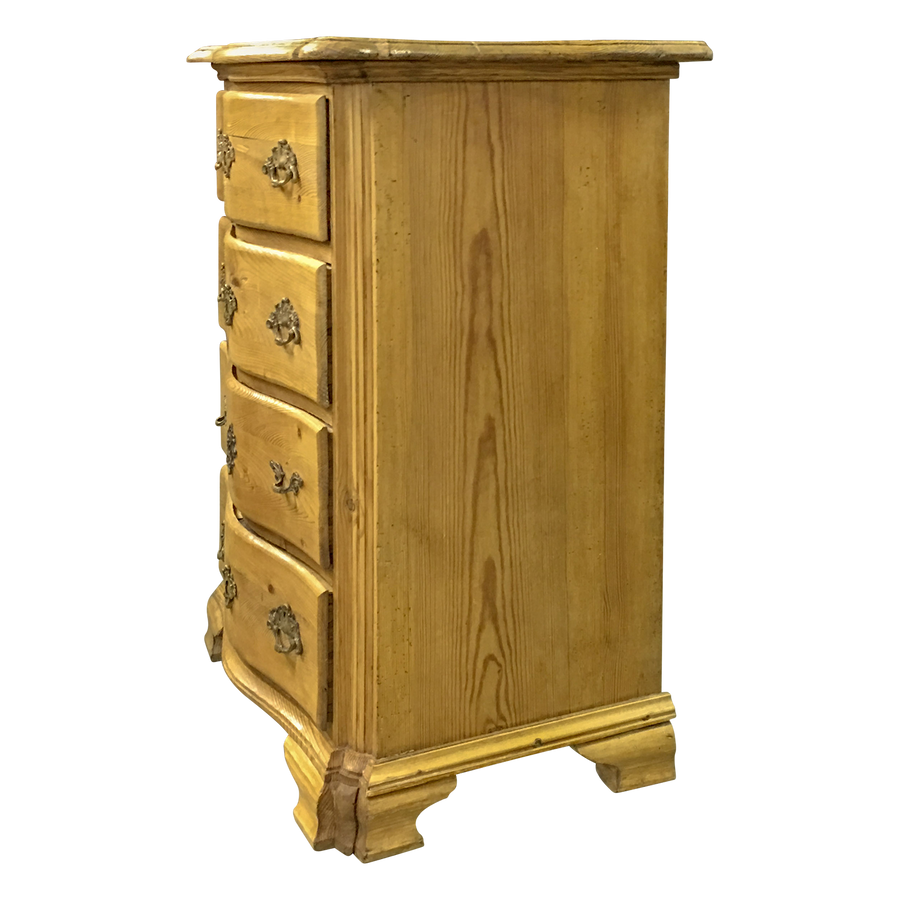 Pine Serpentine Chest