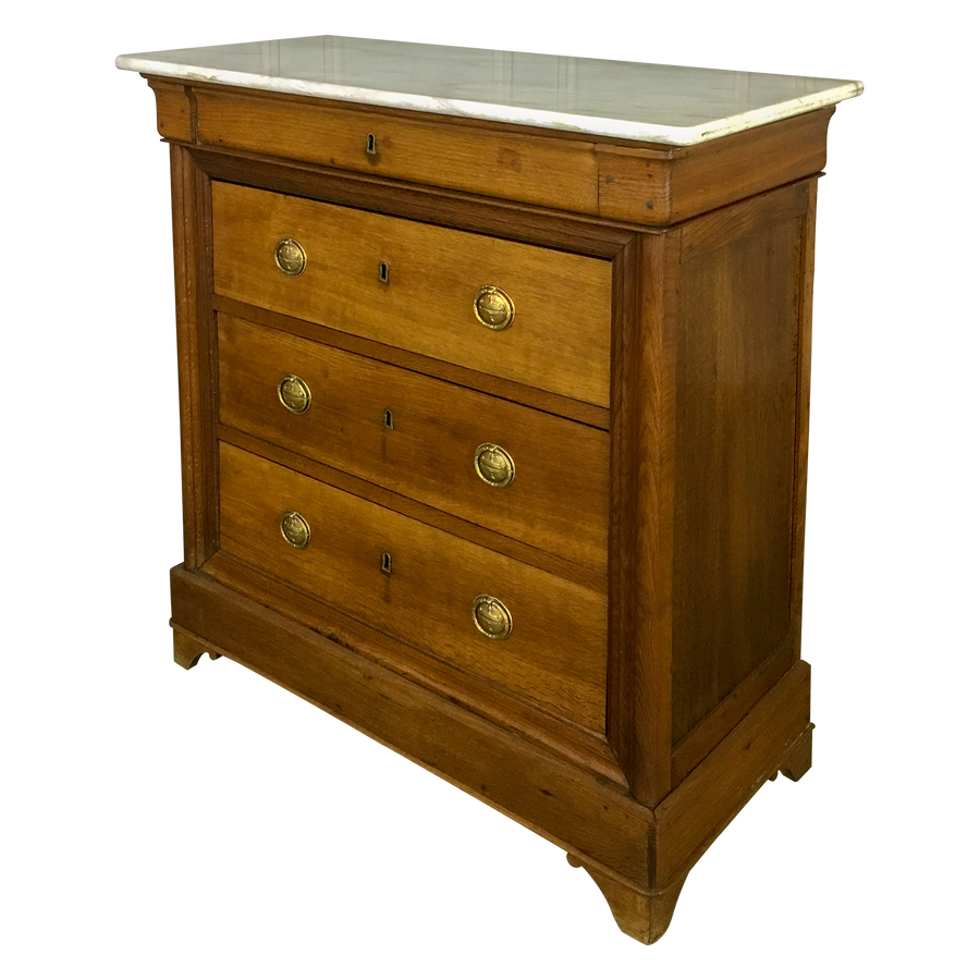 Oak French Chest