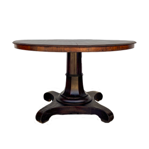Pedestal Base Dining Table