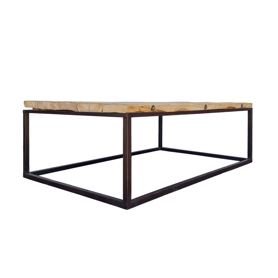 Iron & Elm Cocktail Table