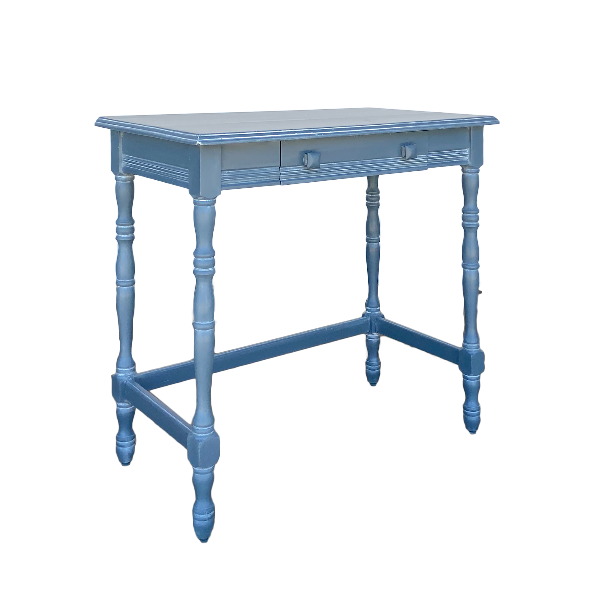 English Desk in Swedish Blue