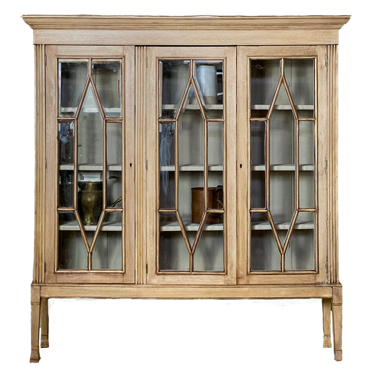 English Glass Cabinet