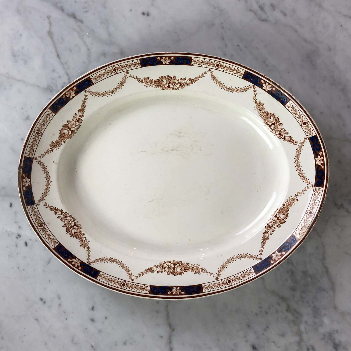 Porcelain Painted Platter