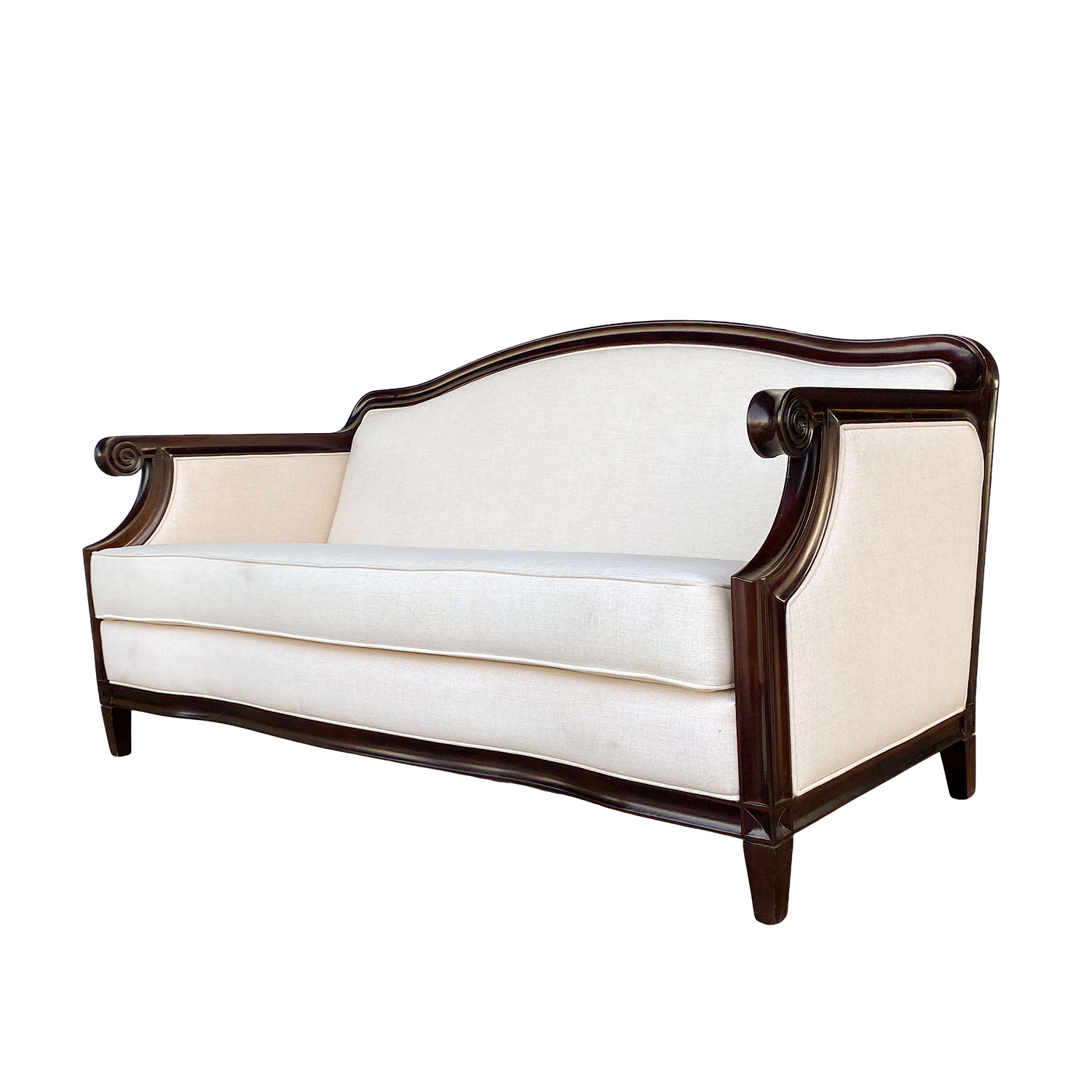 Wood Frame Sofa