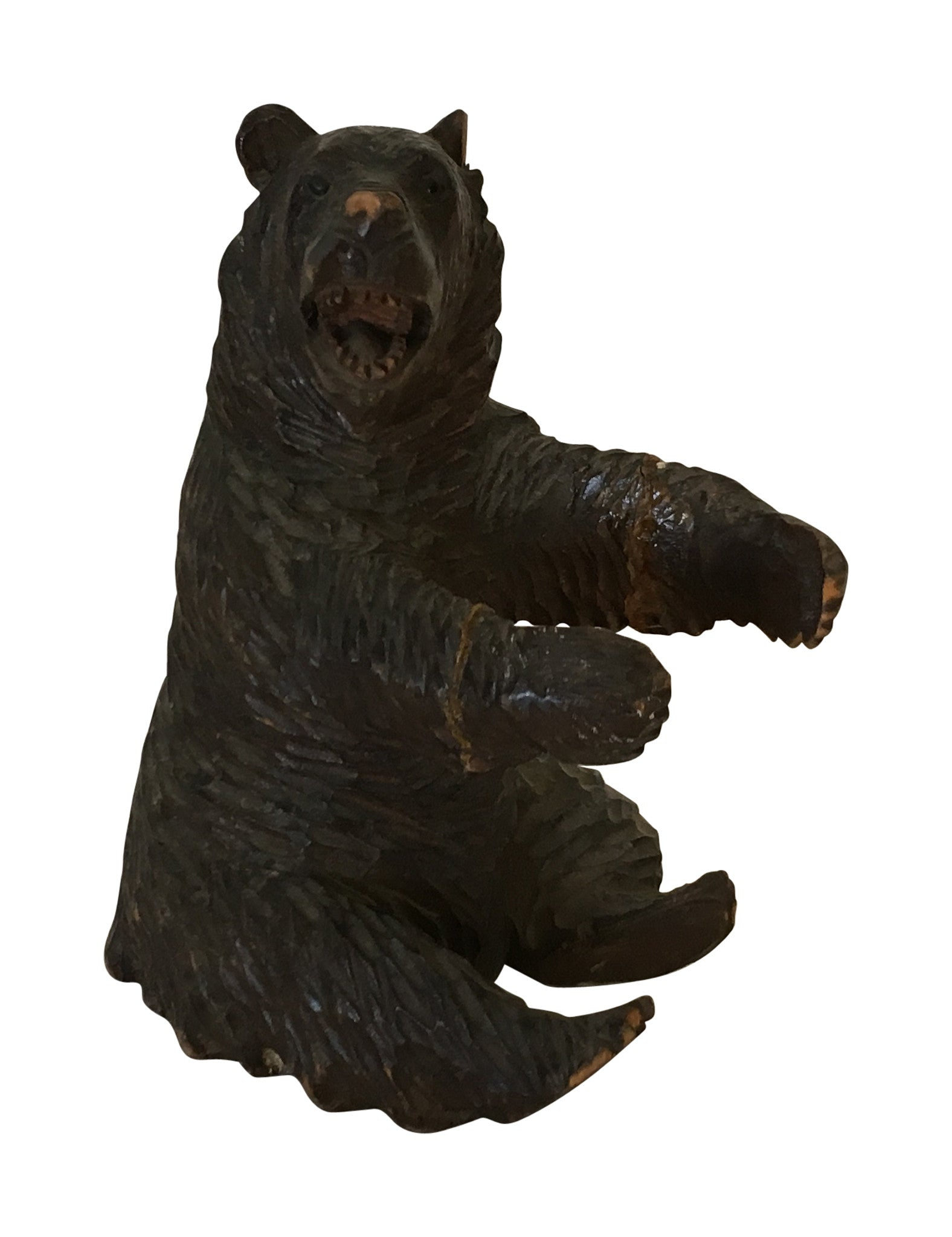 Black Forest Carved Bear