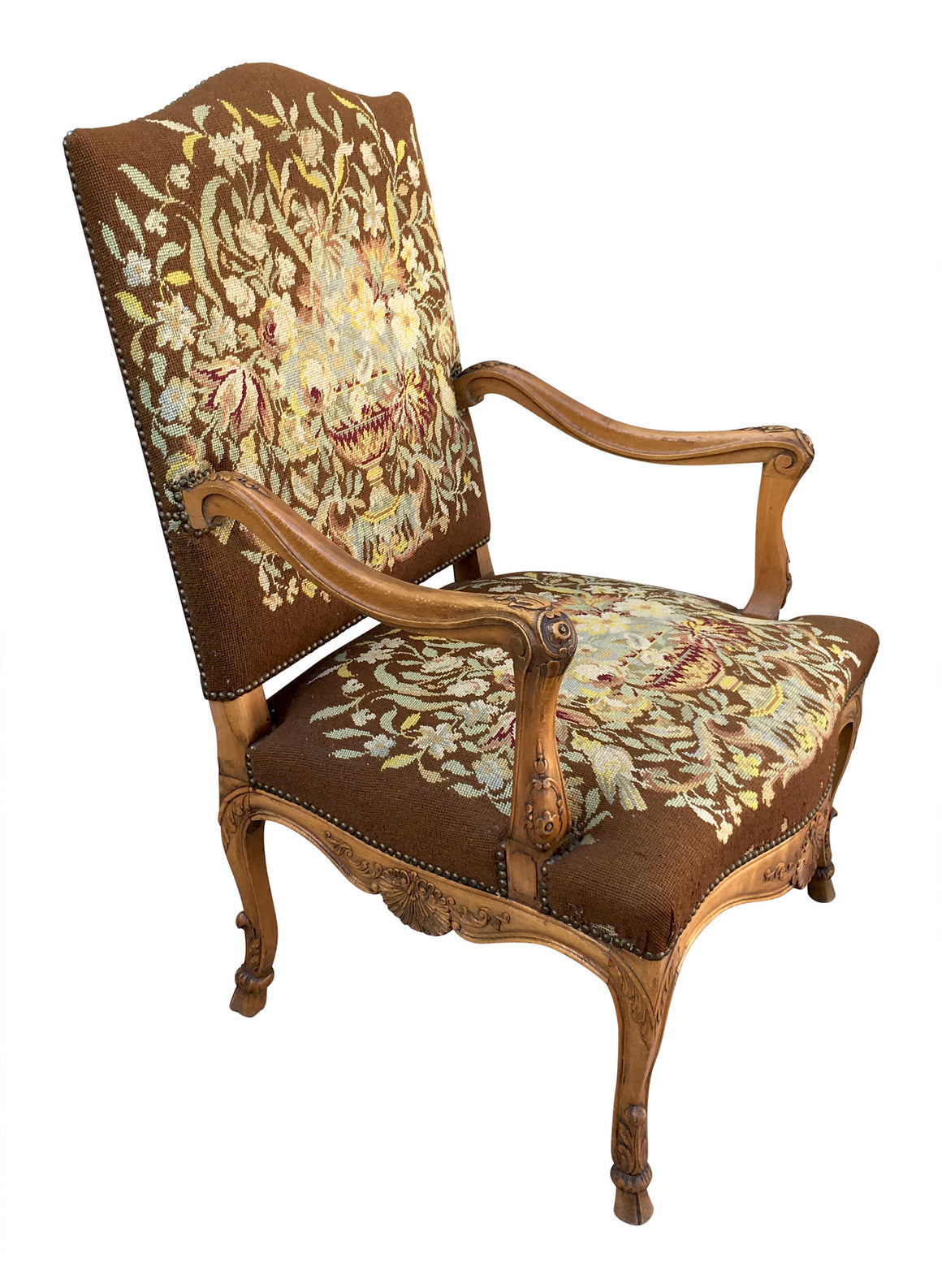 Pair of Louis XV Arm Chairs