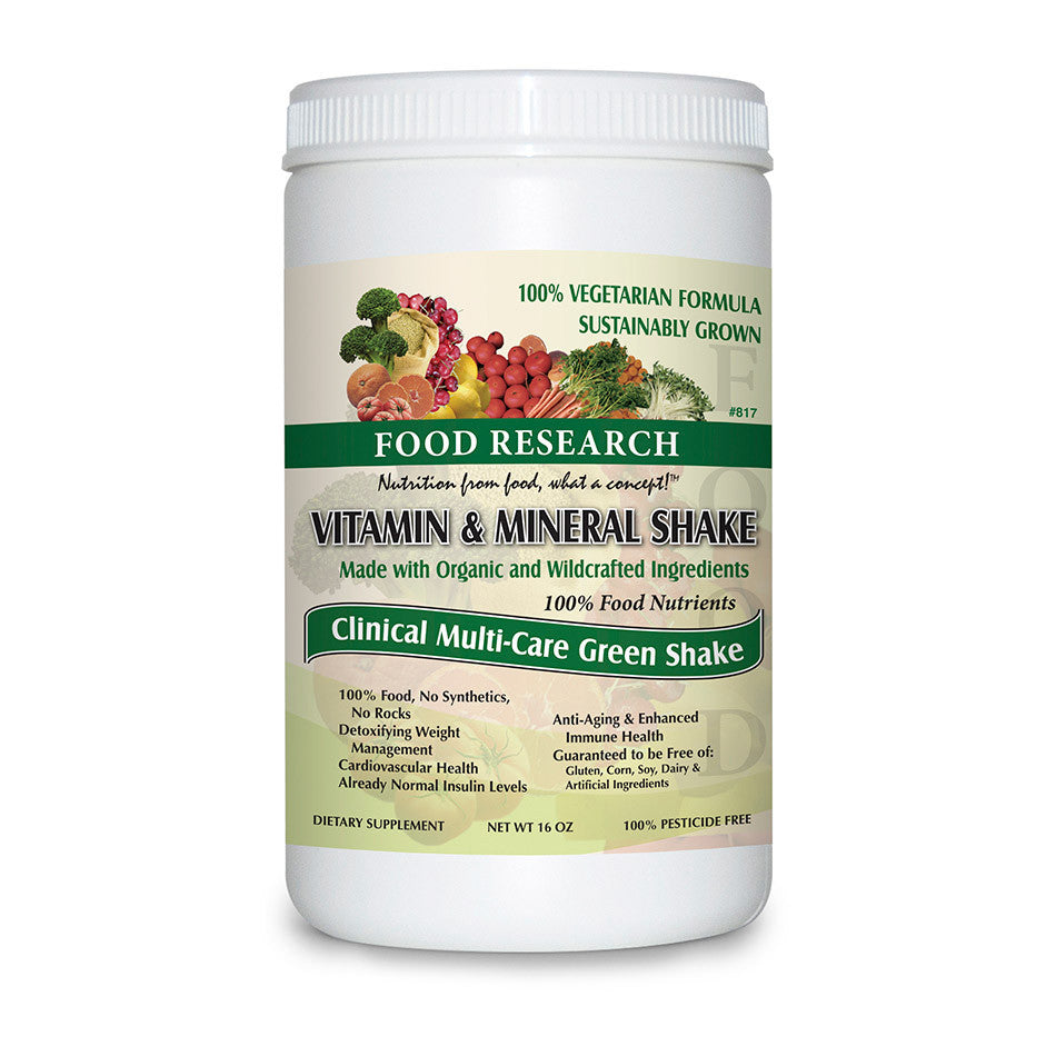 Vitamin & Mineral Shake Bottle