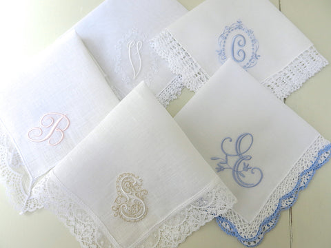 Handkerchief with 1-Initial Collection