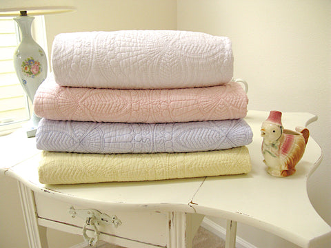 Baby Quilt-Pastel Color Collection