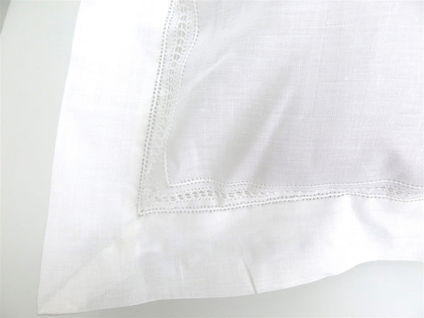 Linen Hemstitched Baby Linen Pillow Sham, Set of 2