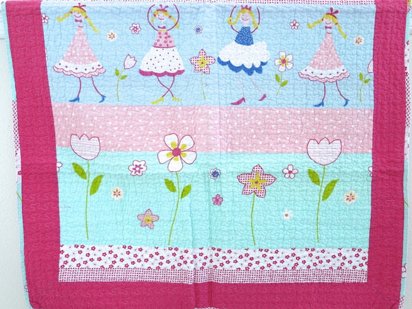 Cotton Baby Quilt-Playful Collection
