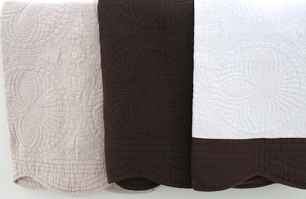 Cotton Baby Quilt-Earth Tone Color Collection