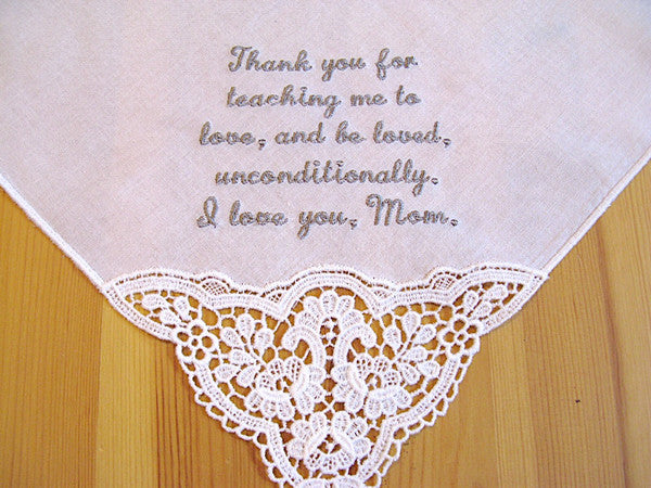 Wedding Message Handkerchiefs