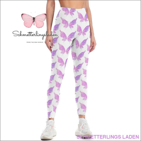 LILA SCHMETTERLING LEGGINGS | Schmetterlingsladen