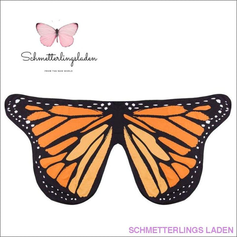 SCHMETTERLING KOSTÜM FÜR KINDER - ORANGE | Schmetterlingsladen