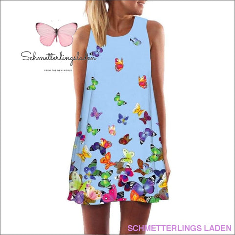 SCHMETTERLING ABENDKLEID - SCHWARZ & MULTICOLOR | Schmetterlingsladen