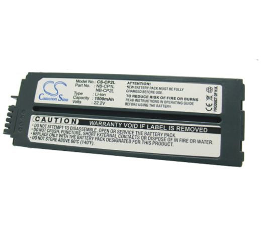 1200mAh Li-ion NB-CP2L Battery Selphy CP-200, Selphy CP-220 Compact Photo Printer