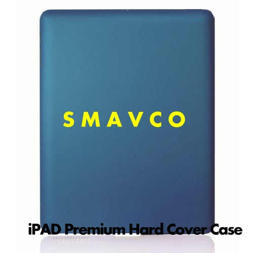 Blue Rubberized Hard Case Cover for Apple iPAD