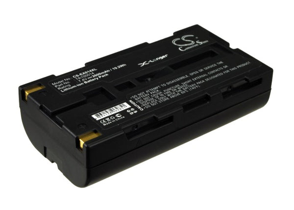 2600mAh 7A100014 Battery Extech APEX 2, APEX 3, APEX2, APEX3 Survey Battery