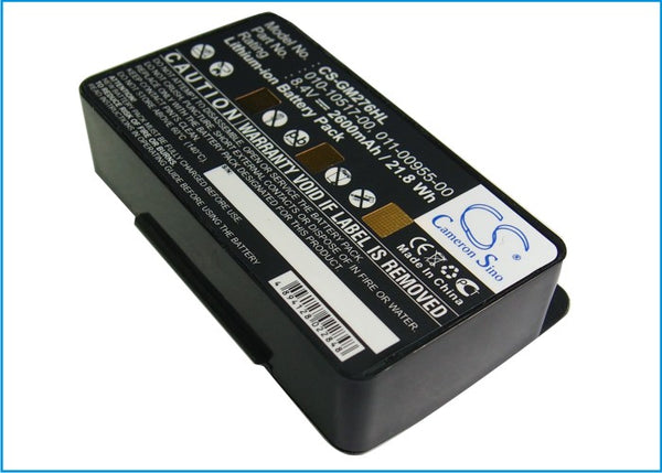 2600mAh High Capacity Replacement Battery PDA-170LI Garmin 010-10517-00, 010-10517-01
