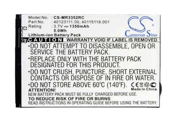Wireless Router Battery fo VERIZON Jetpack 4G LTE (P/N 40123111.00, 40115118.001)