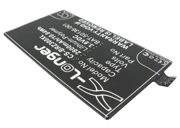 2800mAh Battery for Blackberry STA100-1, STA100-2, STA100-3, STA100-4, STA100-5, STA100-6, STR100-2