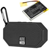 400mAh LZ502535 Battery for Altec Lansing iMW257, iMW257-MT, iMW257-OW-TA, iMW258, iMW258BLK, Mini H2O 2, Mini H2O 3