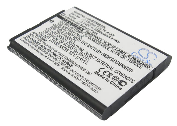 1300mAh CTR-003, C/CTR-A-AB Battery for Nintendo 2DS XL, 3DS, CTR-001, JAN-001, MIN-CTR-001 Switch Pro Controller