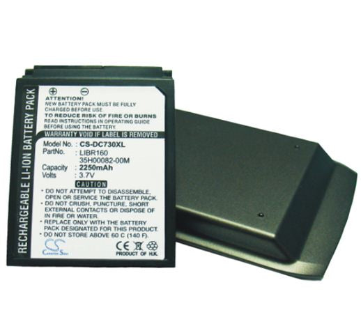 2250mAh High Capacity Battery with cover Dopod C730W, C730, HTC S630, SoftBank X02HT