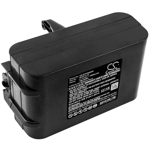 5000mAh 205794-01/04, 965874-02 Battery Dyson Absolute, DC58, DC61, DC62 Animal, DC72, DC74 Animal, V6 AnimalPro