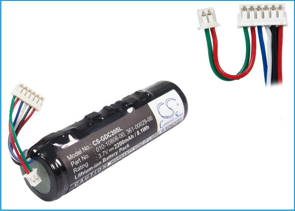 2200mAh Li-ion Battery with tools for Garmin DC40