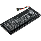 950mAh 361-00082-00 Battery for Garmin 010-01951-00 Varia RTL501, Varia TL