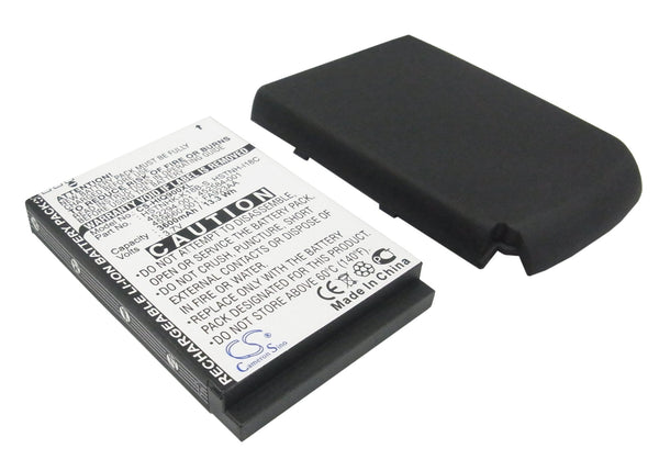 3600mAh High Capacity Battery with cover for HP iPAQ 900
