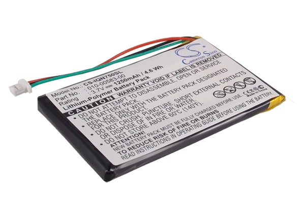 Replacement 010-00583-00 Battery for Garmin Nuvi 750