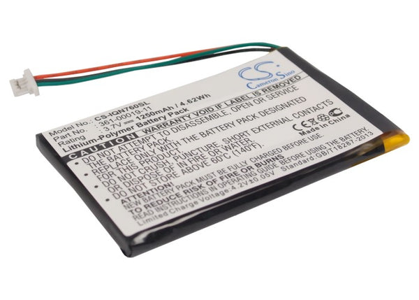 Replacement 361-00019-11 Battery for Garmin Nuvi 760